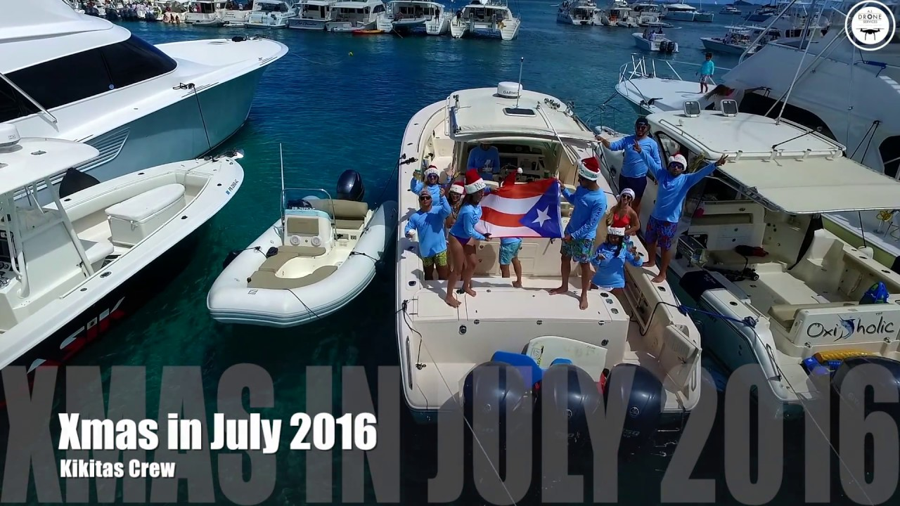 Christmas In July 2019 Virgin Gorda.Kikitas Crew Christmas In July Bvi 2016