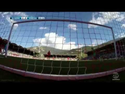 Algeria - Armenia 3 : 1  ( beIN 1 TV ) HD French 31/05/2014