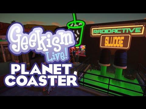 🔴 Radioactive Sludge | Planet Coaster Community Park | Live Stream Archive