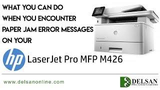 HP LaserJet Pro M426 Paper Jam