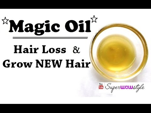 Magic Hair Growth Oil - Stop Hair Fall &  Grow New Hair | SuperWowStyle Hair Loss