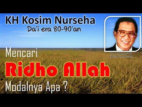 KH Kosim Nurseha Ridho Allah