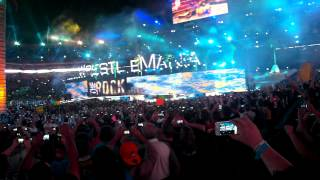 Wrestlemania 28 - The Rock Full Entrance - Florida - Good Feeling - Wild Ones -04/01/12