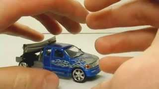 Monster Garage Diecast 1/64 Nut Shaker Truck,Toy Review
