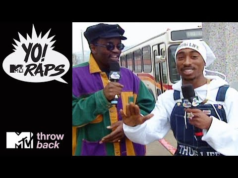 'Tupac & Fab 5 Freddy' 🎤 Official Throwback Clip | Yo! MTV Raps | MTV