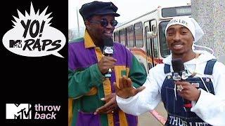 'Tupac & Fab 5 Freddy' 🎤 Official Throwback Clip | Yo! MTV Raps | MTV