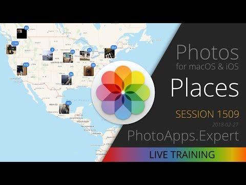 Apple Photos; PLACES — PhotoApps.Expert Live Training 1509 SAMPLE