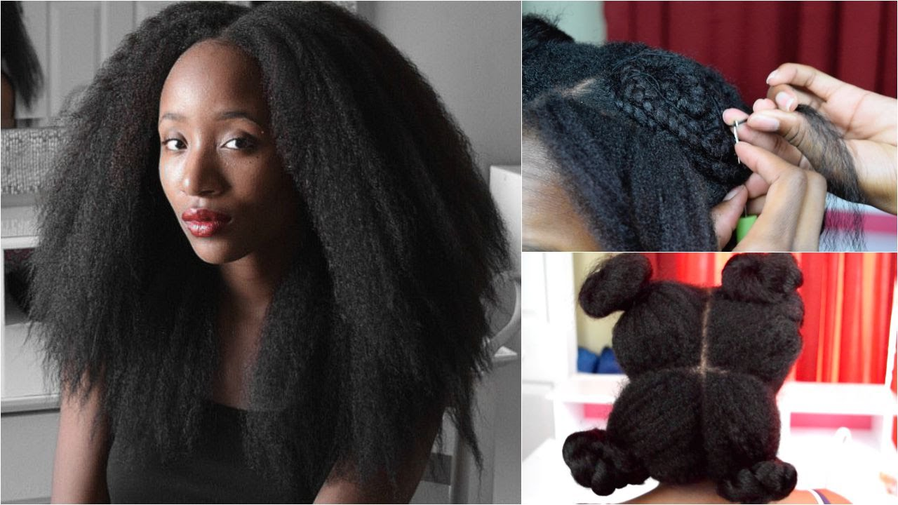 How To: Crochet Braids (Vixen Method) ft. Afri Naptural Definition ...
