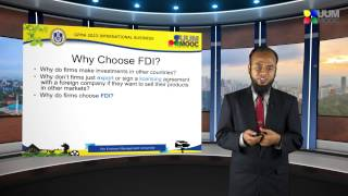 TOPIC 7: FOREIGN DIRECT INVESTMENT PART 1
