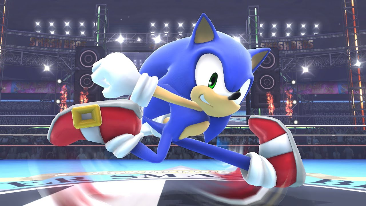 Super Smash Bros For Wii U Sonic Amiibo Training Episode 3 Youtube
