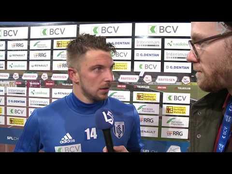 LSTV: Lausanne-Sport - FC Basel 1893 , interview d'après-match avec Alexandre Pasche