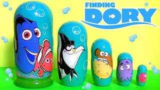 Disney Finding Nemo Dory Stacking Cups Nesting Toys Surprise Secret Life of Pets Mashems toys
