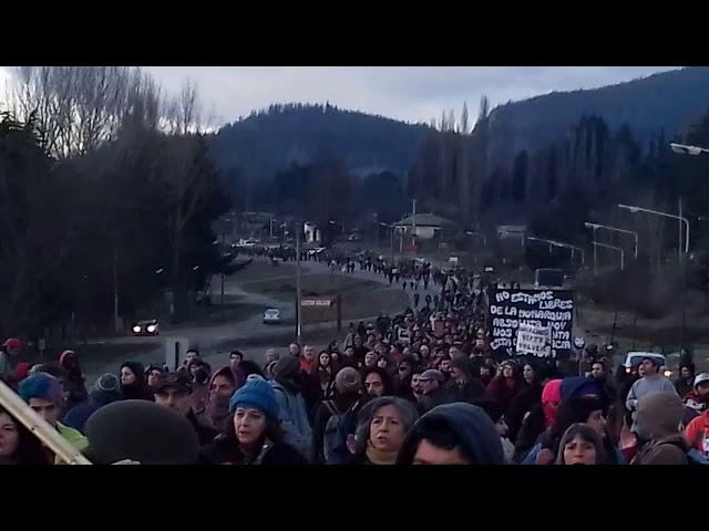 Resultado de imagen para marcha por santiago maldonado en noticiasdelbolson