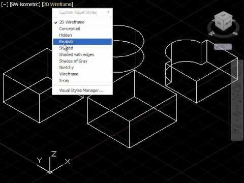 AutoCAD Tutorial Convert 2D into 3D Object
