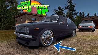 INSTALEI RODAS BBS NO SATSUMA! My Summer Car