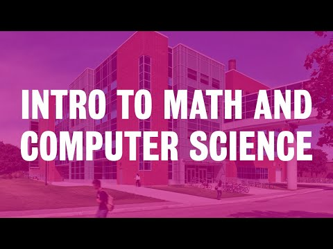 Introduction To Math And Computer Science At Waterloo