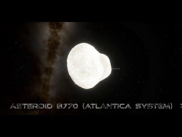 Asteroid B770 (Atlantica Asteroid Belt)