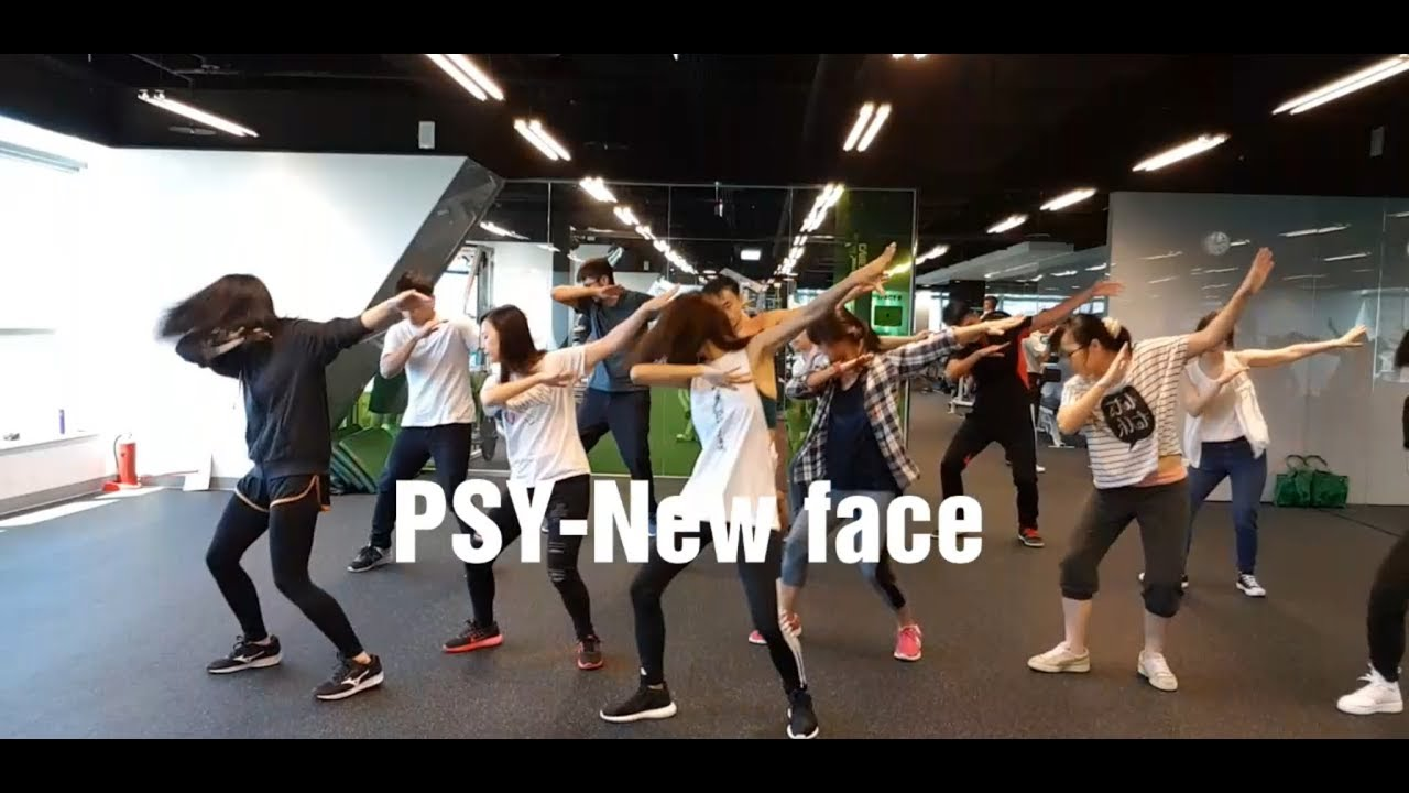 PSY-New face | 舞蹈&數拍1 | Chueh Minnie(mirrored) - YouTube
