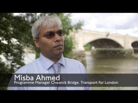 Road Modernisation Plan: Chiswick Bridge refurbishment