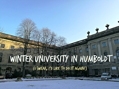Winter University Experience in HUMBOLDT