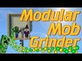 How to make a Mob Farm in Minecraft: Easy Survival Friendly Mob Grinder | Minecraft Modular Mob Farm