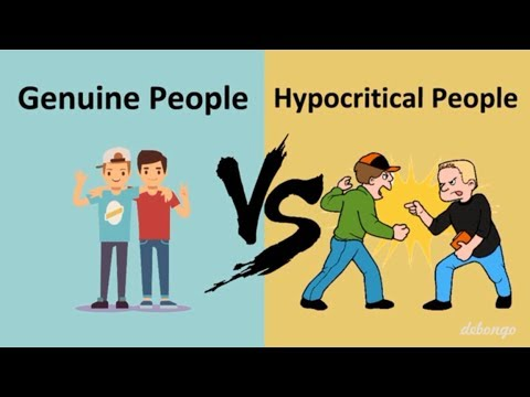 Genuine People Vs Hypocritical People | Difference