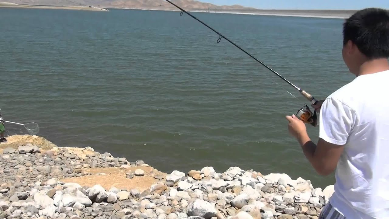 Striped bass fishing at san luis reservoir doovi for San luis reservoir fishing report 2017