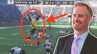 If Boring Joe Buck Called EXCITING Madden Plays Throughout the Years...