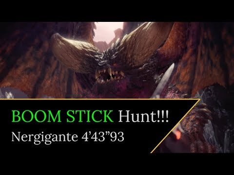 Mushku Ungracefully? Plays Monster Hunter World - Status Blast Glaive Trial Hunt