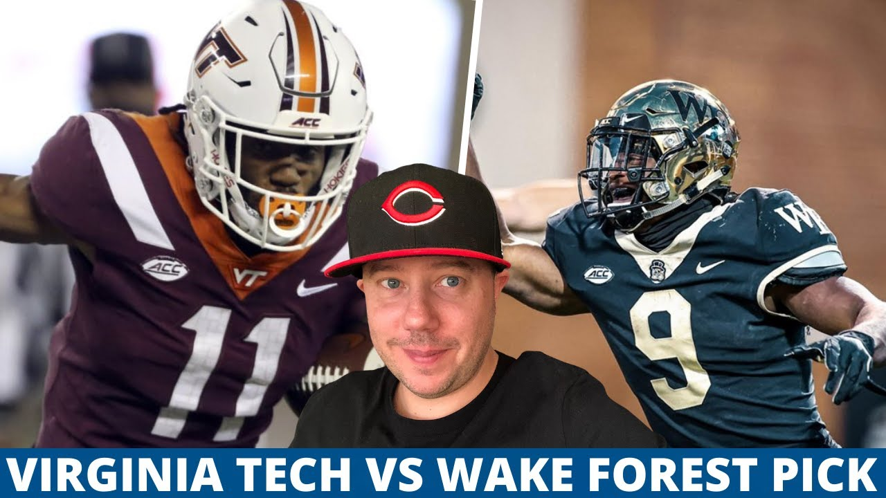 Virginia Tech At Wake Forest Pick Week 8 College Football Predictions Youtube
