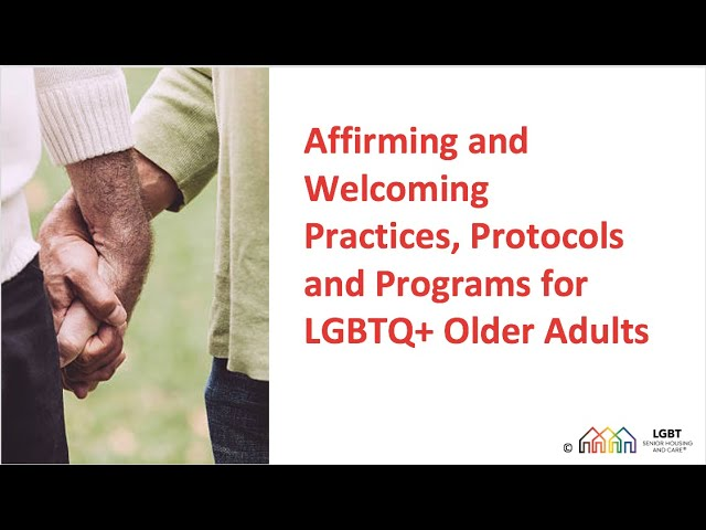 Welcome to LGBT Senior Housing and Care
