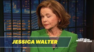 Jessica Walter Teaches Seth the Lucille Bluth Wink