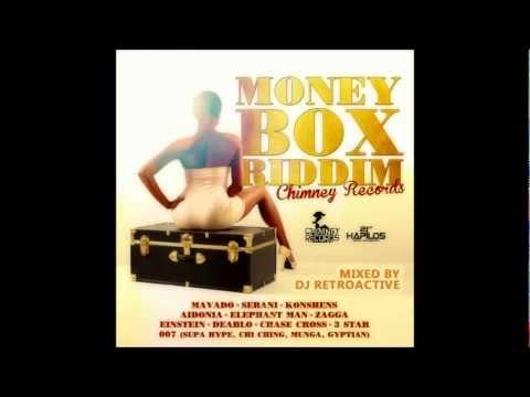 DJ RetroActive - Money Box Riddim Mix [Chimney Records] June 2012