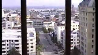 Los Angeles Hollywood Riots 1992 Raw Footage  P1 of 3