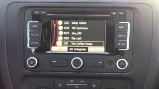 How to scroll fast in the new VW nav system RNS 315