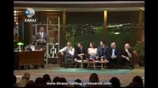 Kıvanç Tatlıtuğ & Kelebeğin Ruyası Team in Beyaz Show ( Part 9 ) - March 15, 2013
