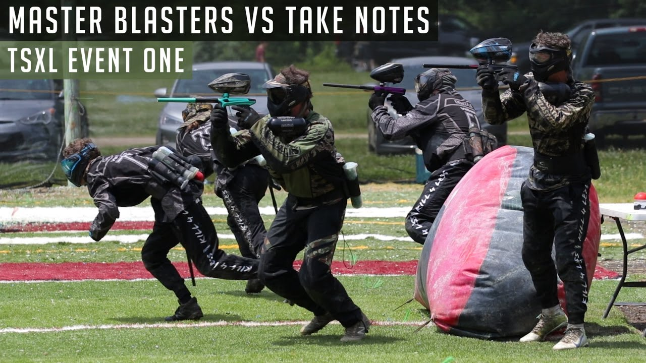 The Comeback | Master Blasters vs Take Notes | TSXL Event One | D3 Xball Prelims | Booked Team Raw