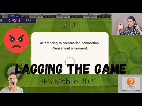 Lagging in PES Mobile