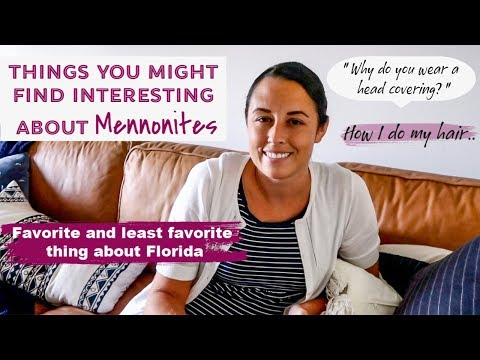Life As A Mennonite Mom | Q & A | Dating | Head Coverings | Florida