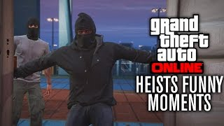 GTA V Online HEIST FUNNY MOMENTS | BANTER BUS & CASCO THEFT w/ The Nobeds