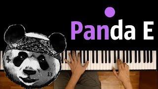 CYGO - Panda E ● караоке | PIANO_KARAOKE ● ᴴᴰ + НОТЫ & MIDI | Правда, покорила меня, твоя правда ...