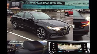 2018 Accord 2.0T sport presentation and walkaroud