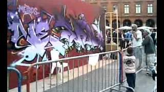 Urban Art Graffiti (Toulouse France) vid4