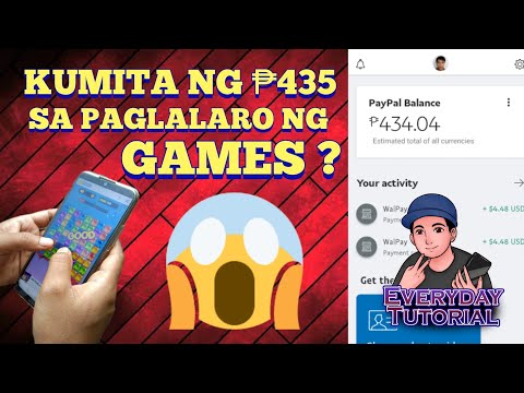 HOW TO EARN ₱434 VIA PAYPAL AND GCASH BY PLAYING GAMES | LATEST 2020 | STEP BY STEP