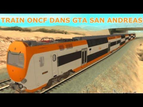 GTA San Andreas - Train ONCF Mod - #1 [MAROC]