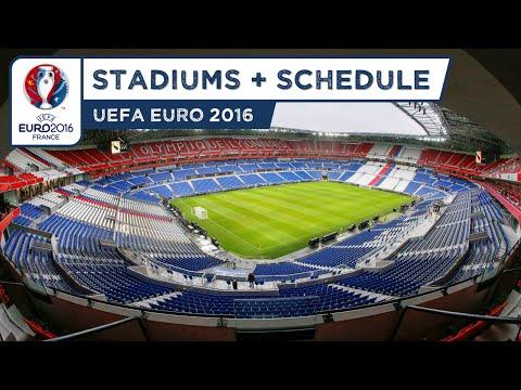 UEFA Euro 2016 Stadiums (HD)