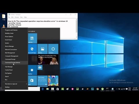 "#24 How to fix ""The requested operation requires elevation error "" in windows 10  #computerrepair"