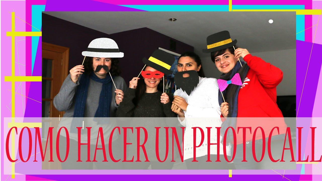 Como hacer un photocall youtube - Como hacer un photocall ...