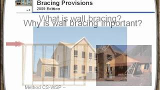 A Guide To The 2009 Irc® Wood Wall Bracing Provisions