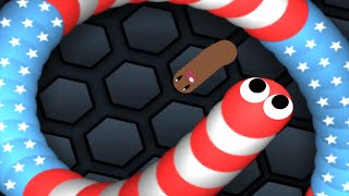 Slither.io - The Return Of King Giant Snake Trolling | Slitherio Epic Plays
